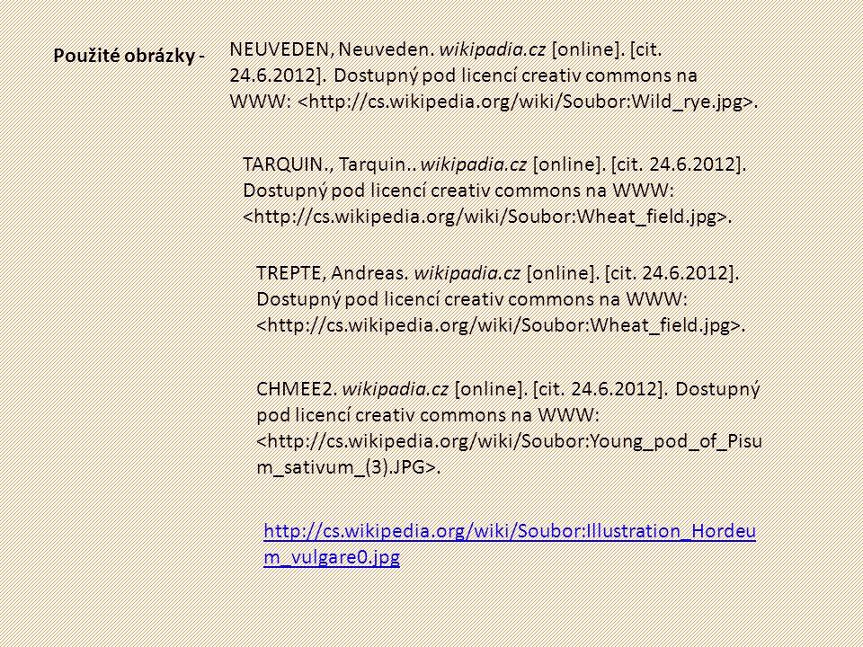 NEUVEDEN, Neuveden. wikipadia. cz [online]. [cit. 24. 6. 2012]
